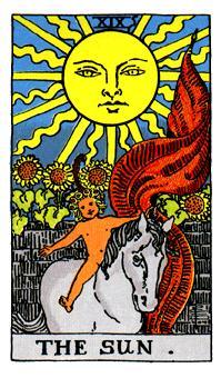 the sun tarot reversed relationship